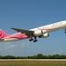 "Delta Airlines Boeing 757-232 N610DL ""Breast Cancer Awareness"""
