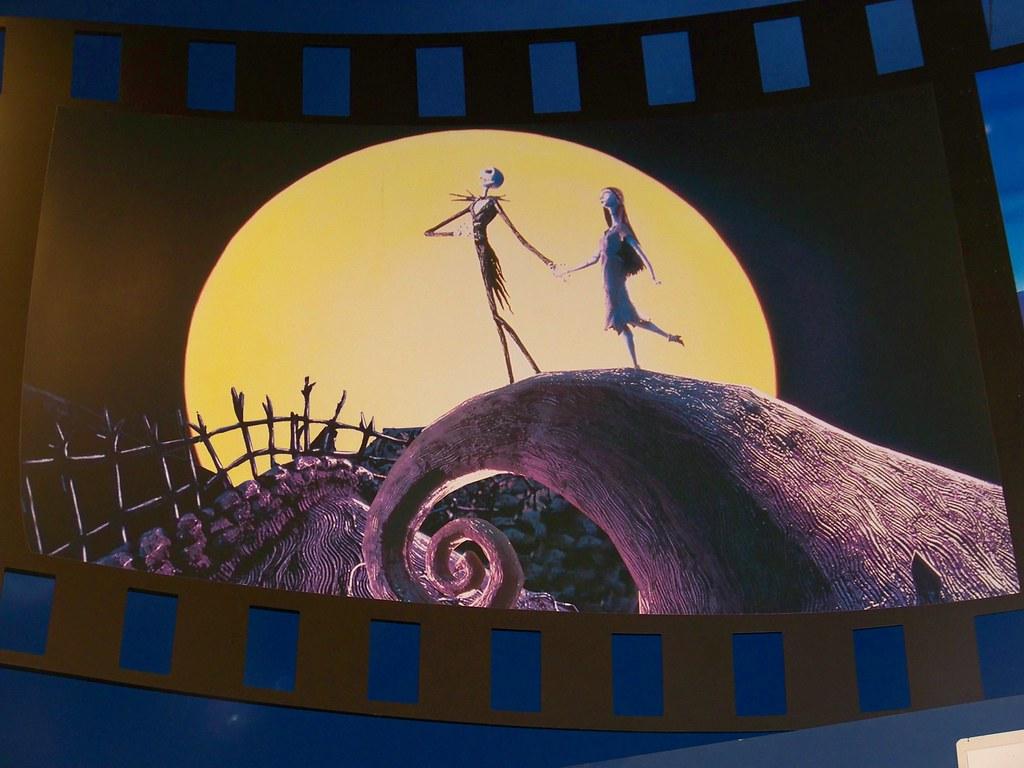 Nightmare Before Christmas film strip scene in Disney\'s So… | Flickr