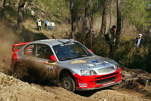 Top 50 Rally Cars Hyundai Accent Wrc The Hyundai Accent W Flickr
