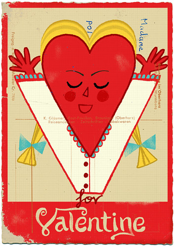 V for Valentine | by Paul Thurlby
