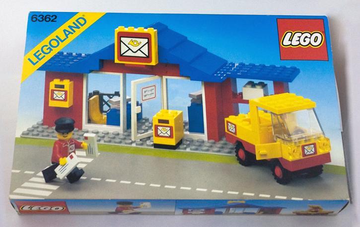 model lego post office