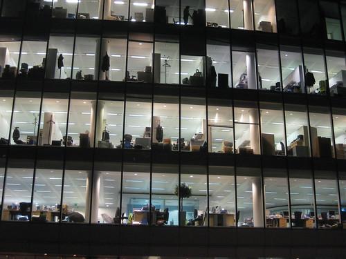 Office Window View Night : More office windows at night matt brown flickr