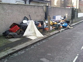 Fly-tipping Montague Road N15 | by Alan Stanton