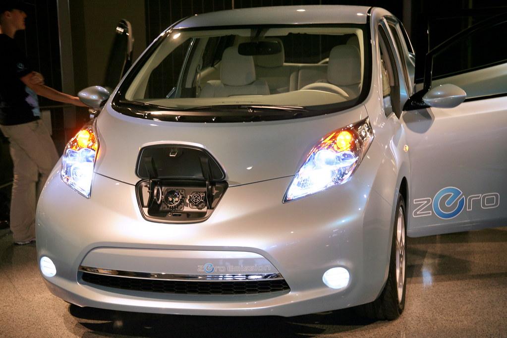 Nissan leaf nissan motor co ltd have unveiled nissan for Nissan motor co ltd