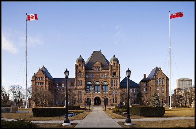 Queen's Park - Ontario Government | Late winter (yes ...