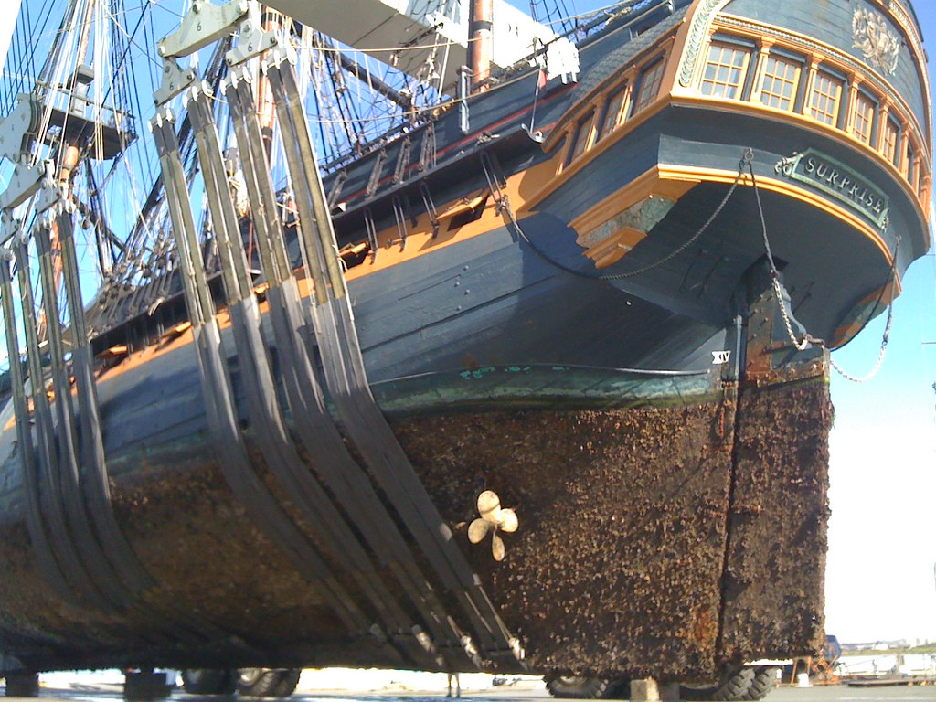 HMS Surprise at Chula Vista Marine Group Boat Works | Flickr