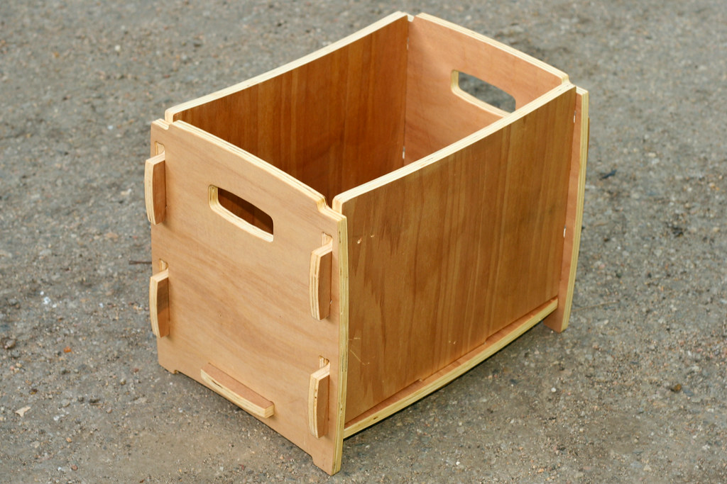 Plywood Cnc Box Left Made From Discount Agathis Plywood