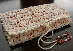 Crocheted crochet hook case | by tintocktap