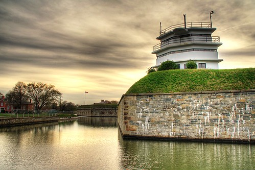 Fort Monroe Old Walls HDR 2 | by Serithian
