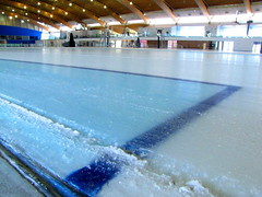 Richmond Oval post-2010 Olympics renovation - icetrack used for Olympic competitions is to be removed | by RayVanEng