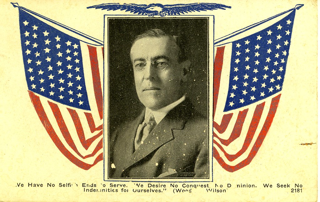 woodrow wilsons views on american diplomacy Woodrow wilson, a leader of the progressive movement, was the 28th president of the united states (1913-1921) massive american effort slowly tipped the balance in favor of the allies wilson went before congress in january 1918.