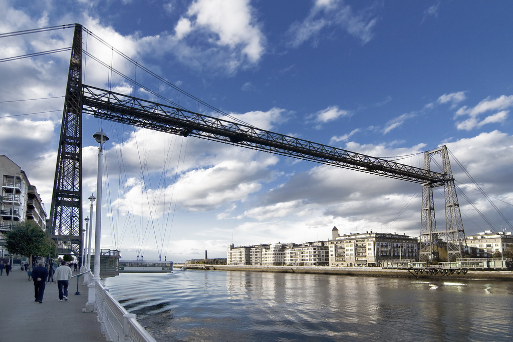 Puente Colgante de Portugalete - Bilbao - España   Puente ...