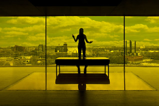 guthrie theater yellow room minneapolis | by Dan Anderson.