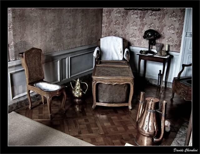 Antica stanza da bagno 2 ancient bathroom vaux le for Stanza da bagno