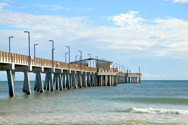 Fishing pier the fishing pier at gulf state park has for Mobile alabama fishing report