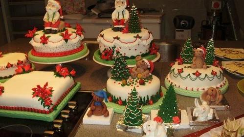 Decoracion De Tortas ~ tortas navide?as  curso  se realizan curso de chocoloateri