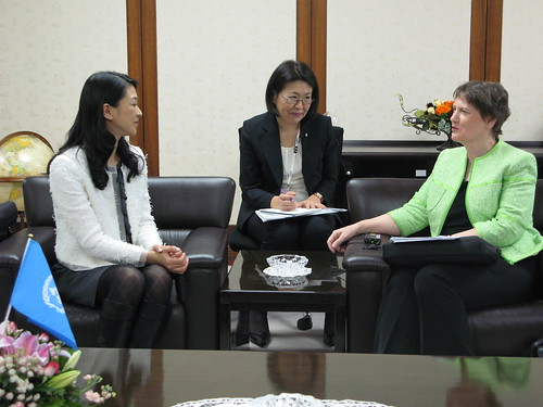 Meeting with UNDP Goodwill Ambassador Misako Konno | by United Nations Development Programme
