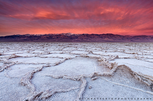 Badwater on Fire - Death Valley National Park, California | by Jim Patterson Photography