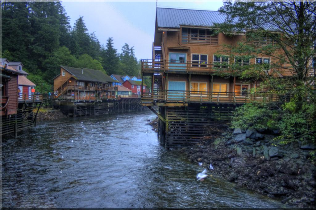 Ketchikan Creek Alaska Back To The Alaska Inside Passage Flickr