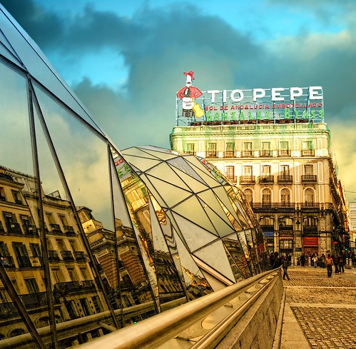 Tio Pepe Puerta Del Sol Madrid Spain Much Better On