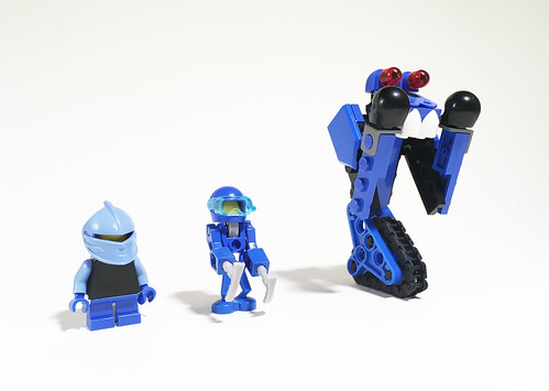 Bohrok Sea Temple - Gali, Nokama and Tarakava minifigures | by -Disty-