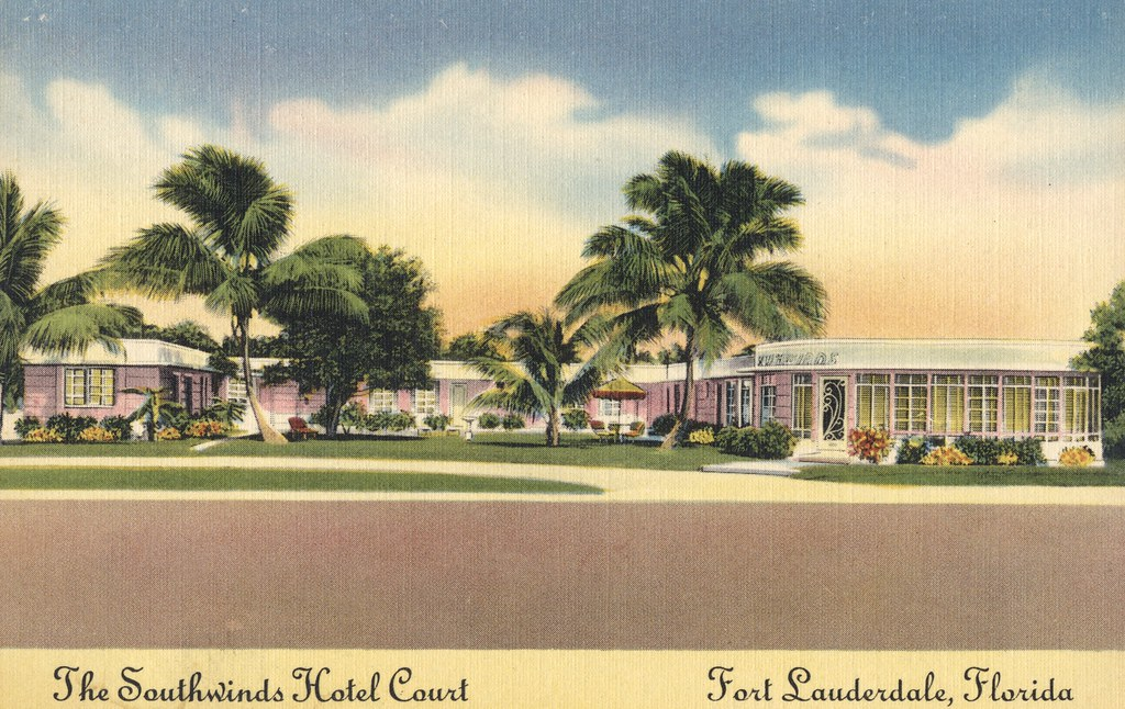 The Southwinds Hotel Court - Fort Lauderdale, Florida