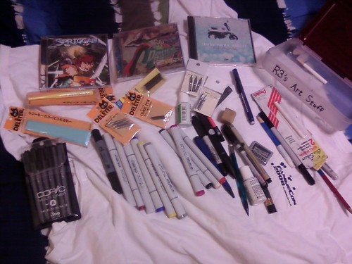 Rescued From The Abyss (1 in a semi-continuing series): Art Supplies and CDs! | by raider3_anime