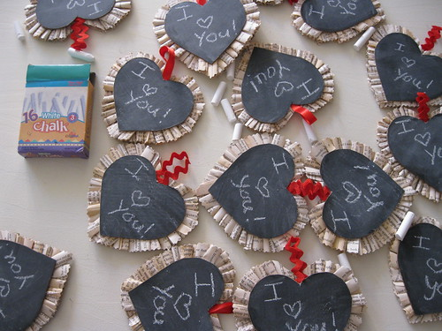 Chalkboard Valentines | by Jane Little