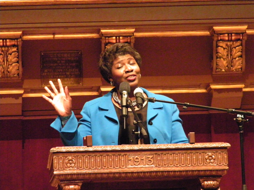 Gwen Ifill Delivering the Keynote Address for the MLK Symp…  Flickr