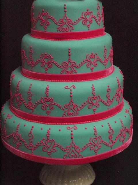 Mehndi Cake Uk : Henna mehendi wedding cake thesweetestthing
