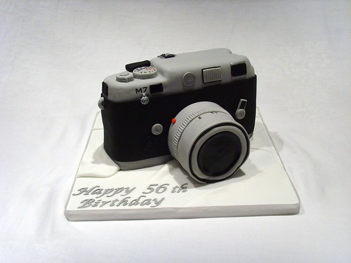 Leica Camera Birthday Cake | by thecustomcakeshop