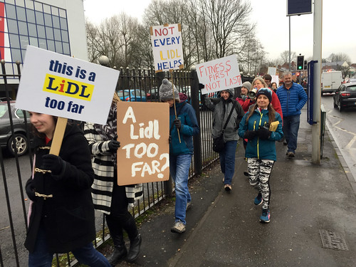 Stirchley-anti-Lidl-demo--3 | by Katchooo