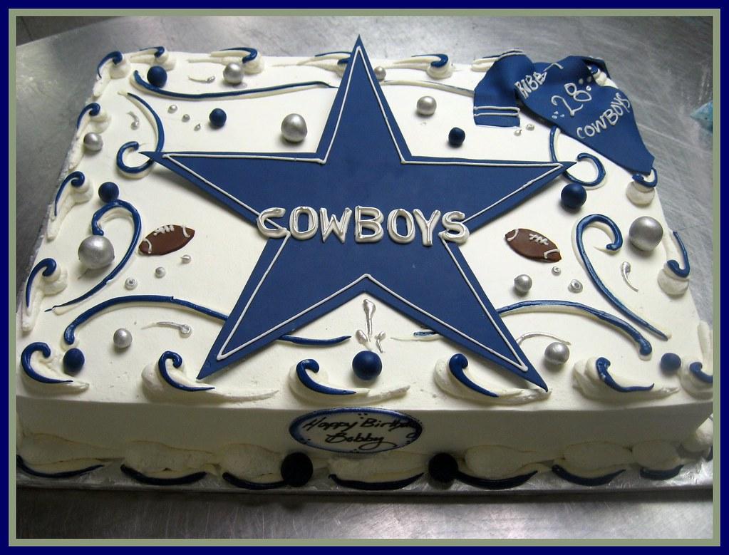 Cowboy Cake Decorations