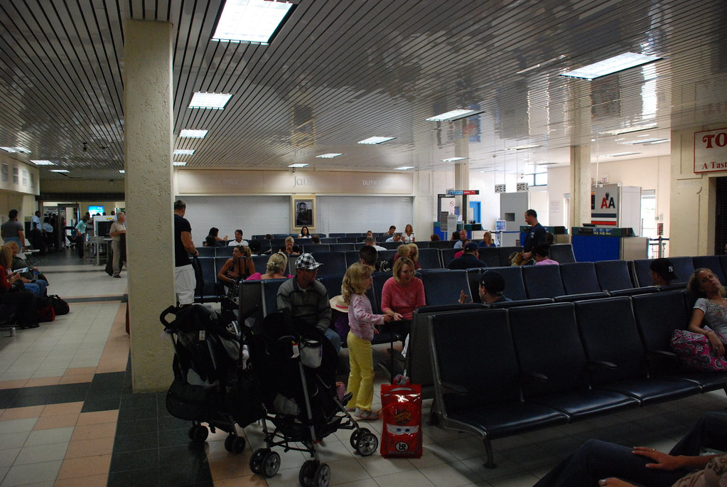 Providenciales International Airport | This is pretty much t