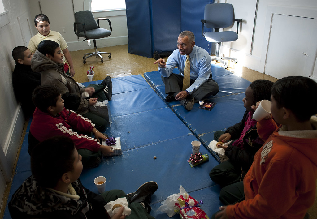 NASA Administrator Bolden Volunteers with the DC Cares Pro ...