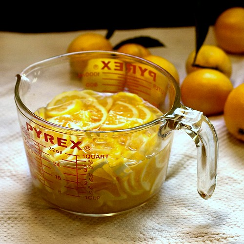 soaking lemons for marmalade | by Married with Dinner