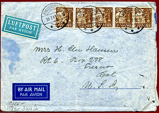 1941 Envelope FRONT -- img042 | by Lance & Cromwell back from a Road Trip