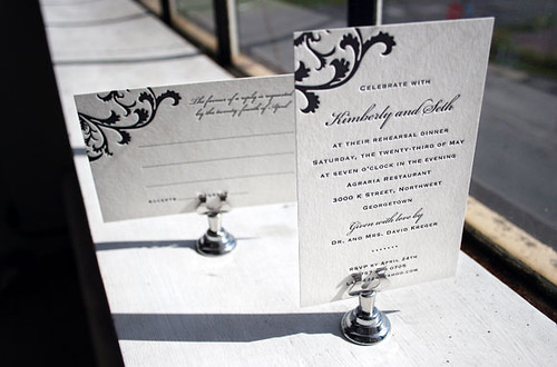 Vettore Letterpress Invitations by Smock | by Smock Letterpress