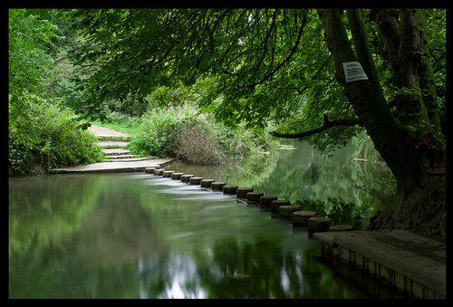 Stepping Stones over the River Mole, Box Hill, Dorking | by Johan J.Ingles-Le Nobel