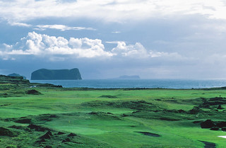 golf course on the coast of Iceland | by xtremepeaks