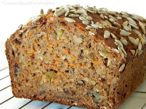 Carrot Banana Bread | by CinnamonKitchn