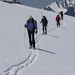 Scientists skiing to Sperry Glacier to conduct measurements