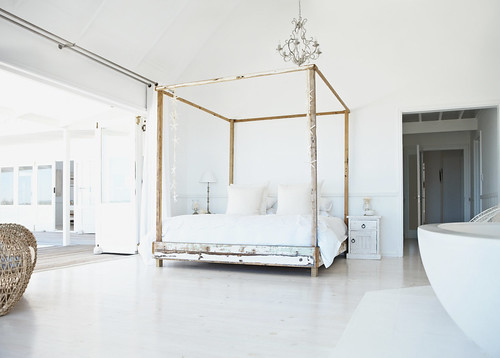 Fine Image of a Modern Bedroom | by Victoria Design Group