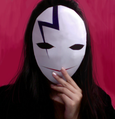 Dtb Hei Mask I Love Darker Than Black So I Couldn T