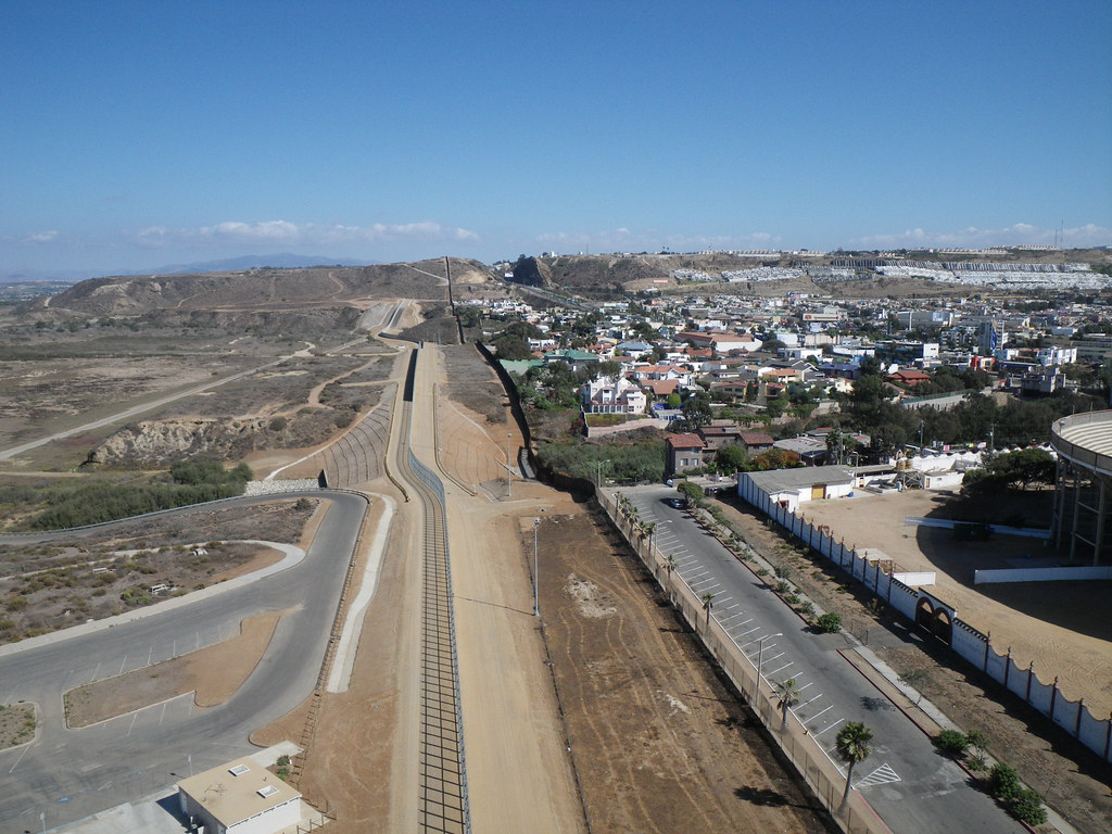 Crossing the U S  Mexico Border into Tijuana  Step by Step