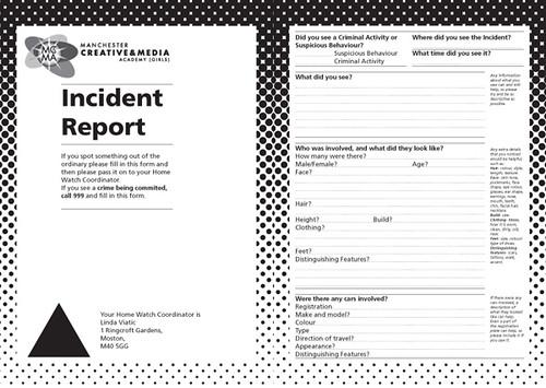 incident report by matt sidebottom incident report by matt sidebottom