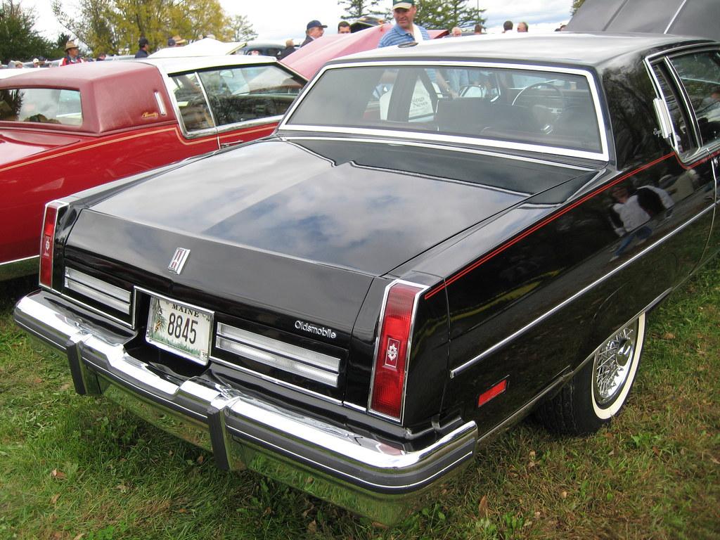 Aaca Hershey Fall Meet Photos >> 1980? Oldsmobile 98 | Saturday car show at AACA Fall Meet, H… | Flickr