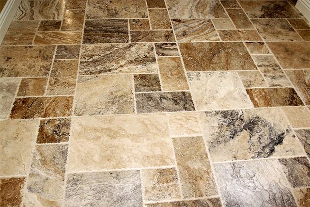 Travertine Tile Floor Travertine Tile Floor Versailles
