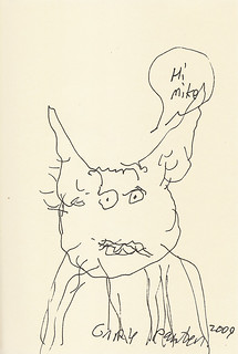 Yoda sketchbook vol. 2 page 59 - Gary Panter | by Mike Baehr