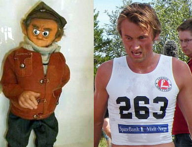 Bilderesultat for northug look alike